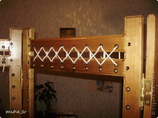 Ширма своими руками. Изготовленная из древесины (отходы ) и декорированная остатками кожи. фото 14
