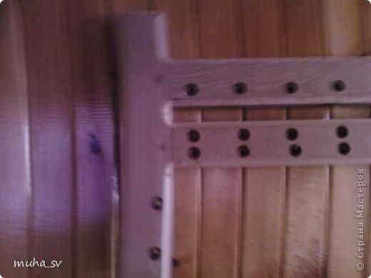 Ширма своими руками. Изготовленная из древесины (отходы ) и декорированная остатками кожи. фото 4