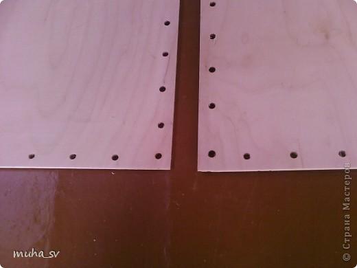 Ширма своими руками. Изготовленная из древесины (отходы ) и декорированная остатками кожи. фото 7