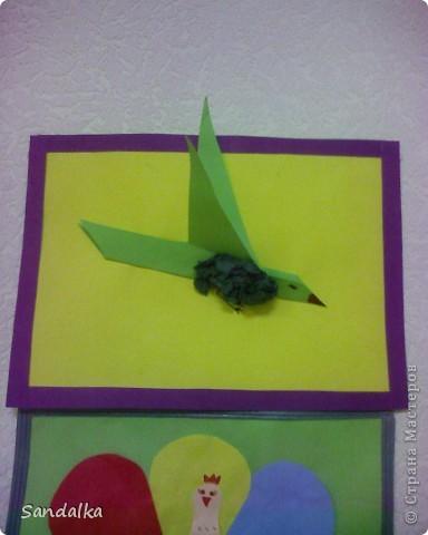 Выставка, посвященная весне и птицам.