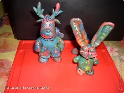 Игрушки из старого пластилина фото 2