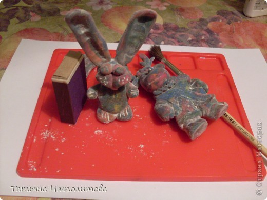 Игрушки из старого пластилина фото 4