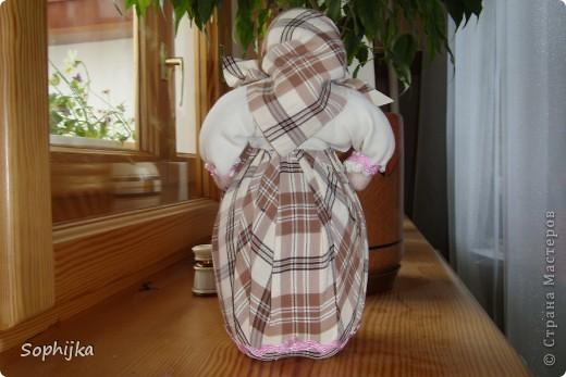 Вот такую куклу я сшила по МК Ликмы (ссылка внизу). Такую стройную, высокую, хозяйственную, добрую бабушку. Посмотрим поближе? фото 2