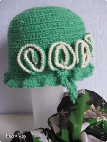 А вот здесь вы угадали - пойдем в баню.....КРАСИВЫМИ. Банные шапочки я вязала для своих подружек, теперь никто никого не путает, если что, отличаемся по шапочкам. У каждой свой цвет, все знают у кого какой. Итак... по шапочкам... фото 4