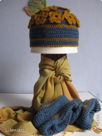А вот здесь вы угадали - пойдем в баню.....КРАСИВЫМИ. Банные шапочки я вязала для своих подружек, теперь никто никого не путает, если что, отличаемся по шапочкам. У каждой свой цвет, все знают у кого какой. Итак... по шапочкам... фото 7