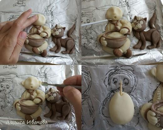 Вот такая веселая и дружная семья у моей подруги Марийки Андриенко))). Предлагаю всем посмотреть, как я делала эту работу... фото 12