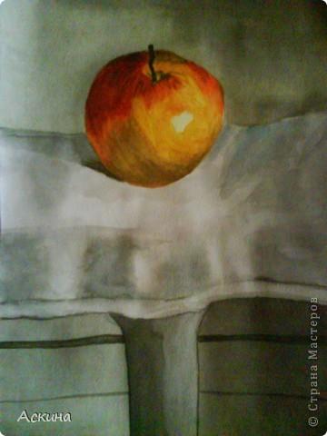 Очень люблю рисовать. Поэтому даже купила самоучитель и теперь рисую по нему. Одинокое дерево. фото 9
