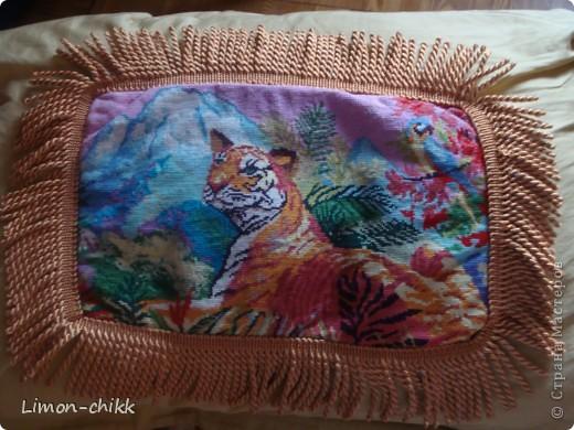 "Вышивка ""Тигр"" фото 1"