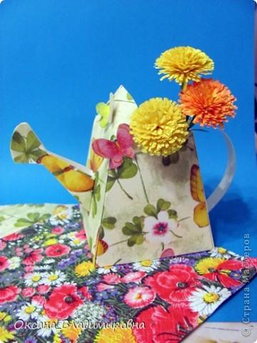 Воспоминание о лете ))) Спасибо, Ирина за прекрасную лейку и схему, очень быстро изготовляется. http://stranamasterov.ru/node/58632 фото 3