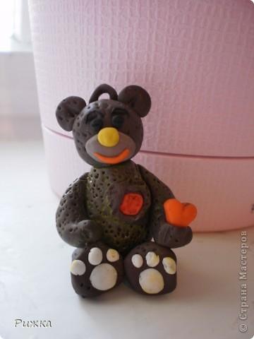 мишка с сердцем  фото 1