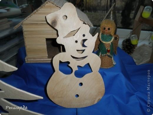 Снеговики-трафареты фото 3