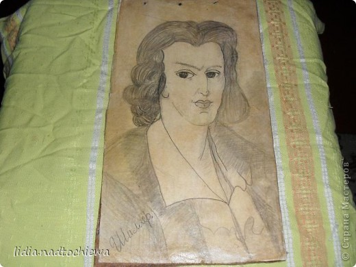 Мои юношеские рисунки фото 8