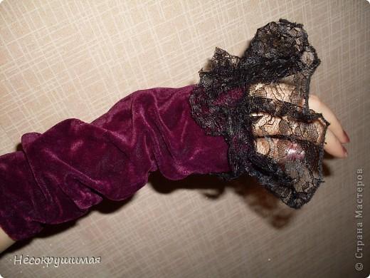 Бархатные перчатки фото 1