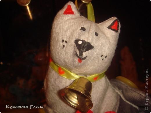 Подарила вот такого котика своей подруге на прошедший день рождения... Вы бы видели её разочарованное лицо...(толи она хотела  получить в подарок что-либо ценное, шапку, например,толи решила меня обидеть)... фото 4