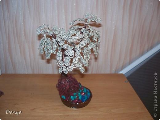 "МК  ""Зимнее дерево"" фото 8"