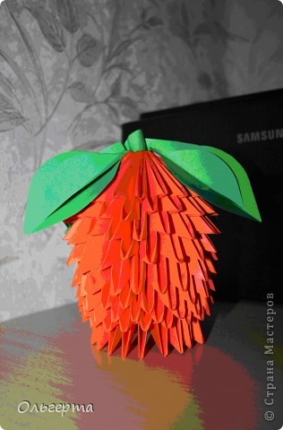 Эксперимент в модульном оригами №1 фото 1