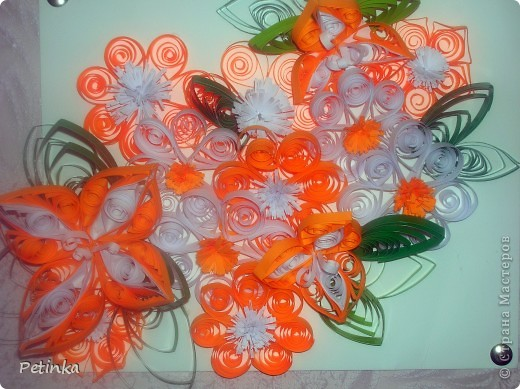Мои любимые оранжевые цветочки фото 1