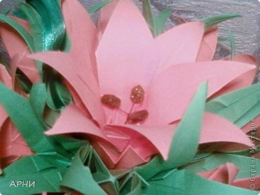 Цветочные шары Лилия - основа кусудама Электра фото 2