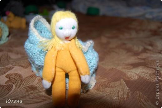 волдорфская кукла в сумочке люльке фото 4