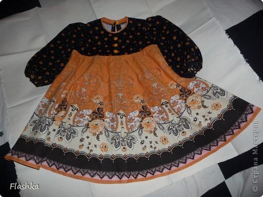 Платье из остатков. фото 3