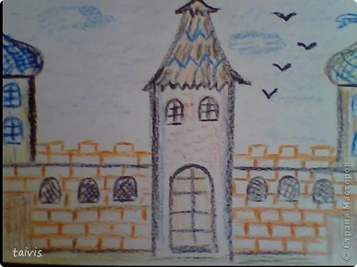 Рисование восковыми мелками. фото 2