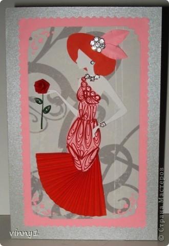 Сакура в цвету. На сайте есть несколько таких работ в технике вырезания фото 4