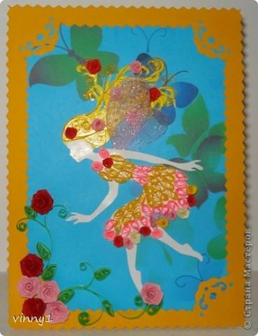 Сакура в цвету. На сайте есть несколько таких работ в технике вырезания фото 3