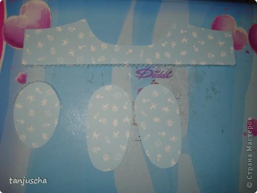 Мастер-класс Скрапбукинг День рождения Пергамано Пинетки из бумаги для новорождённых Бумага фото 16