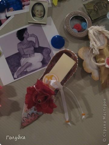 """Мы сегодня решили """"сшить"""" туфельку для мамы. Детям были предложены два варианта фото 11"""