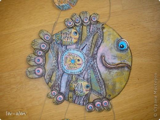 Еще одна рыбка под вдохновением от работ ANAID. За что Диане большое спасибо. фото 2