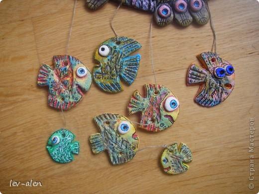 Еще одна рыбка под вдохновением от работ ANAID. За что Диане большое спасибо. фото 4