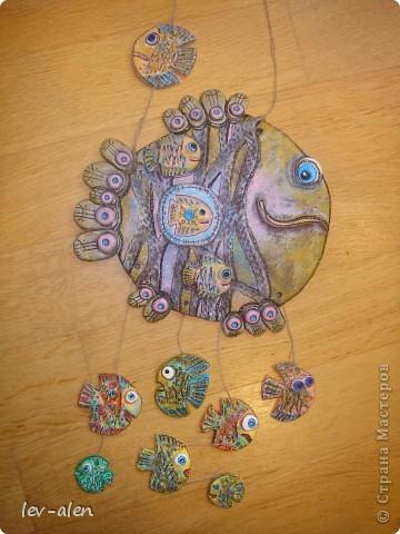 Еще одна рыбка под вдохновением от работ ANAID. За что Диане большое спасибо. фото 1