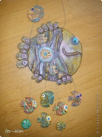 Еще одна рыбка под вдохновением от работ ANAID. За что Диане большое спасибо. фото 7