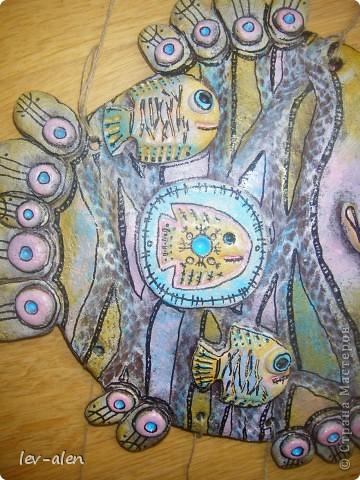 Еще одна рыбка под вдохновением от работ ANAID. За что Диане большое спасибо. фото 3