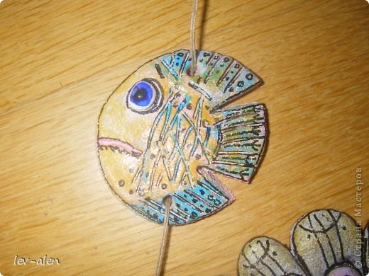 Еще одна рыбка под вдохновением от работ ANAID. За что Диане большое спасибо. фото 5
