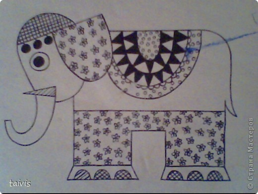 Мы пользуемся при рисовании фломастерами, цветными карандашами, гелевыми ручками. фото 4