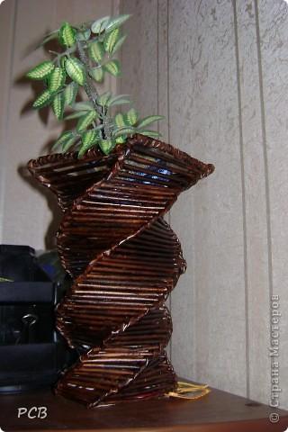 вазы косым плетением фото 2
