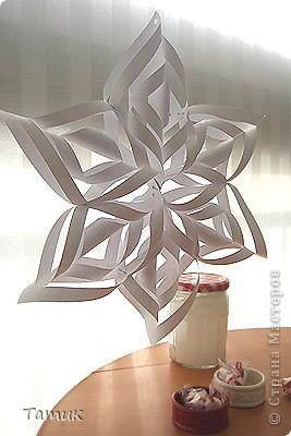 Снежинка -гигант.Скоро Новый Год!!! фото 11