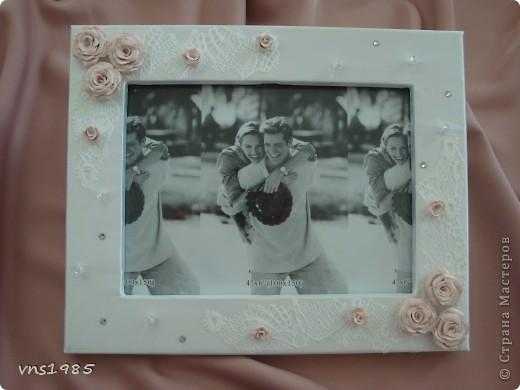 Свадебная фоторамка фото 1