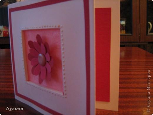 Такие открытки я сделала на день рождения родных и близких. фото 7