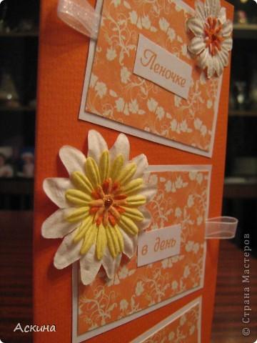 Такие открытки я сделала на день рождения родных и близких. фото 11
