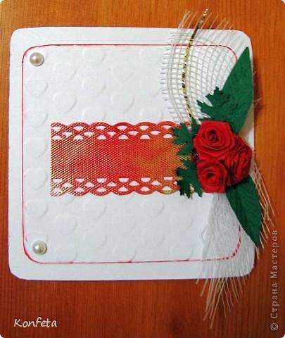 Открытка с розами фото 1