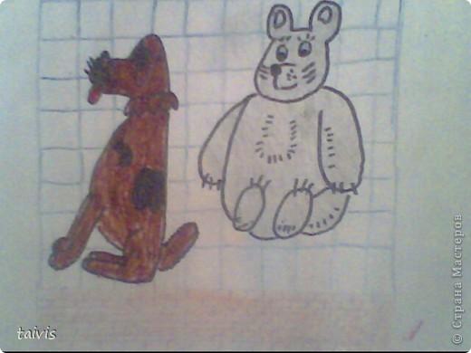 Некоторые рисунки из альбома. фото 11