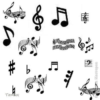Скрипичный ключ фото 5