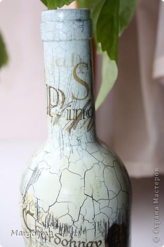 Состаривание бутылки. фото 4