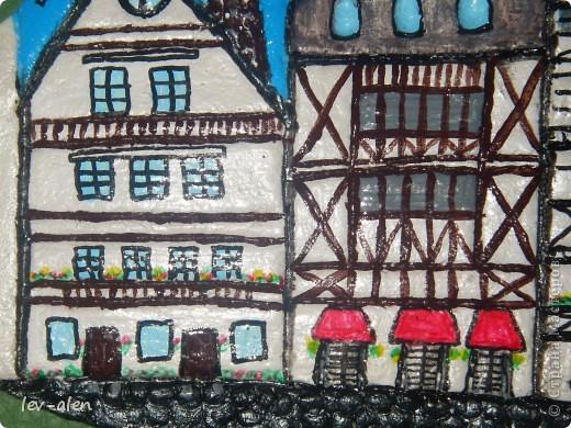 Площадь старинного немецкого города. (По моим представлениям) . Не знаю понравится ли Инне, как жителю Германии, но я старалась. :)  фото 3