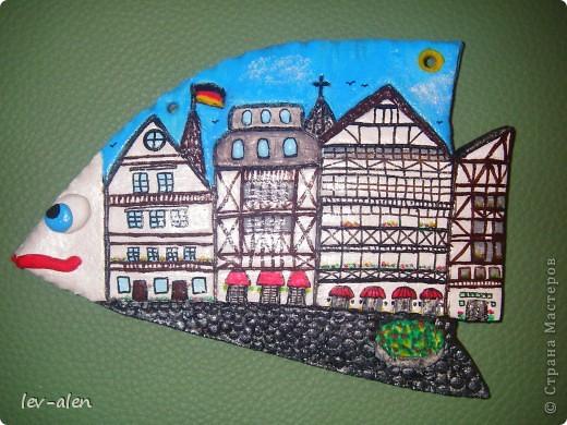Площадь старинного немецкого города. (По моим представлениям) . Не знаю понравится ли Инне, как жителю Германии, но я старалась. :)  фото 5