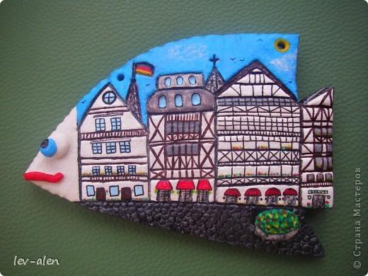 Площадь старинного немецкого города. (По моим представлениям) . Не знаю понравится ли Инне, как жителю Германии, но я старалась. :)  фото 1