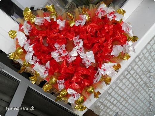 Вот такое сердце приготовила ко дню рождения ПАПЫ :)