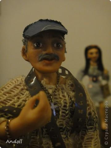 Портретные куклы. 14 см, питерская пластика, ткань, нитки. Буду рада любым комментариям. фото 2